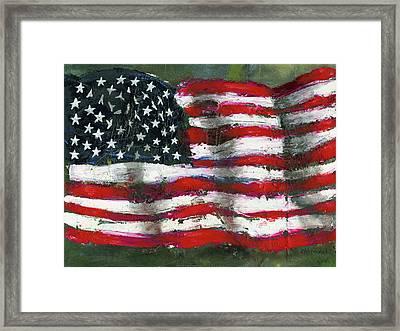 Palette Flag Framed Print
