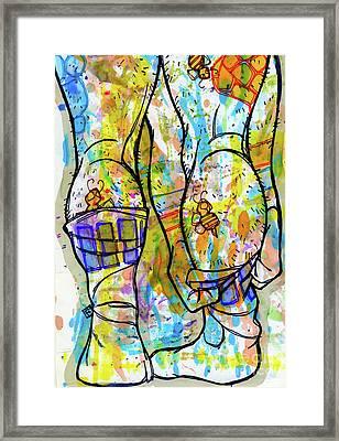 Palette Lad 11 Framed Print