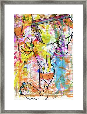 Palette Lad 9 Framed Print