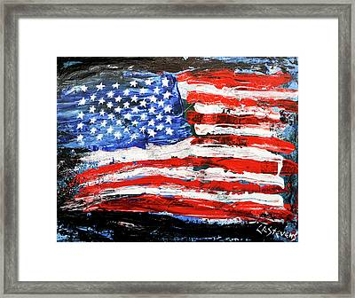 Palette Of Our Founding Principles Framed Print