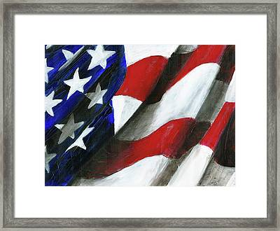 Palette Used To Paint Tn Heros Framed Print