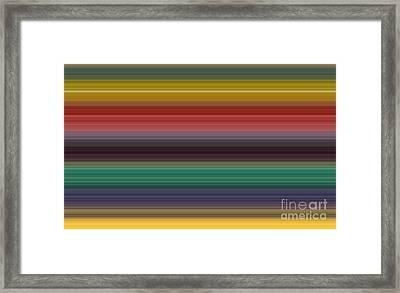 Palette Vii Framed Print