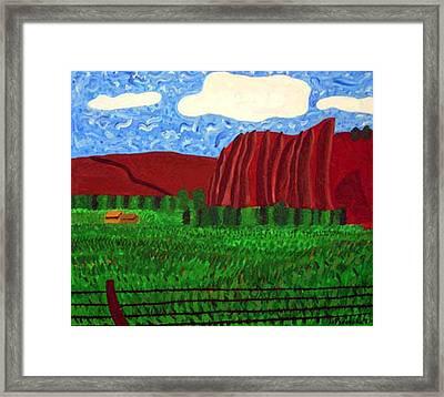 Palisades Co Framed Print