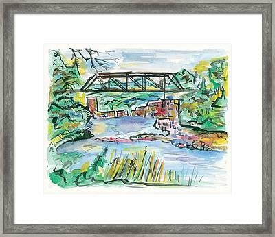 Palisades State Park Framed Print