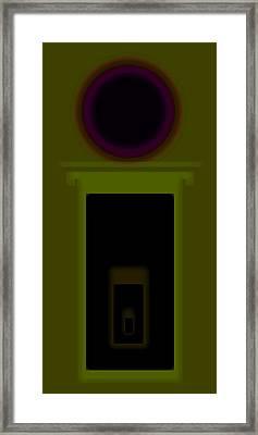 Palladian Green Framed Print by Charles Stuart