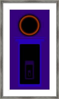 Palladian Violet Framed Print by Charles Stuart