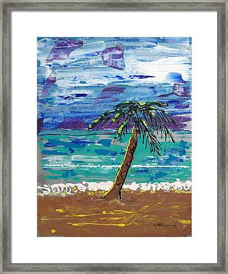 Palm Beach Framed Print by J R Seymour