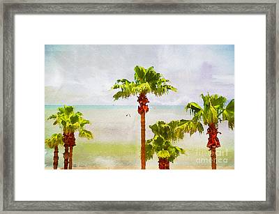 Palm Breeze Framed Print