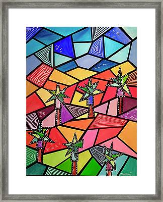Palm Desert Framed Print