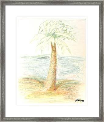 Palm Framed Print by MGilroy