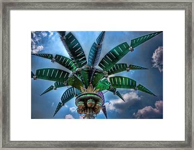 Palm Of Tommorrow Framed Print by Joetta West