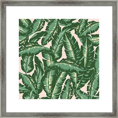 Palm Print Framed Print