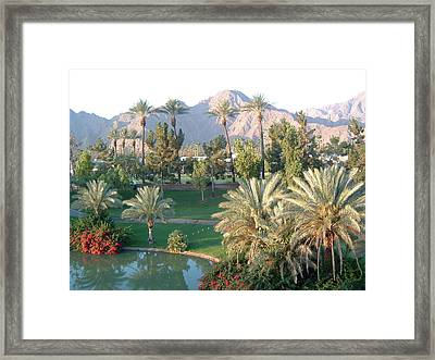 Palm Springs Ca Framed Print by Cheryl Ehlers
