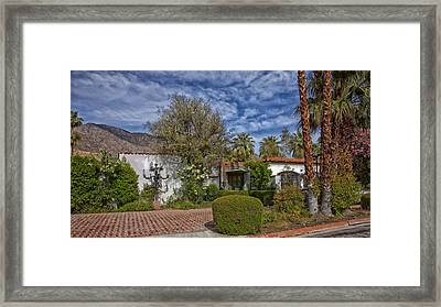 Palm Springs Home Of Liberace Framed Print by Mountain Dreams