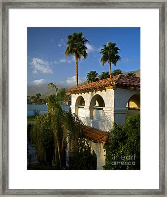 Palm Springs Morning Framed Print