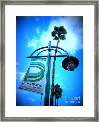 Palm Springs North Framed Print