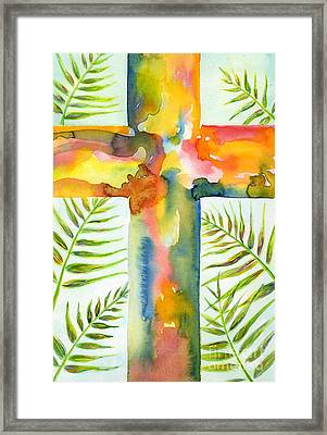 Palm Sunday Framed Print by Ruth Borges