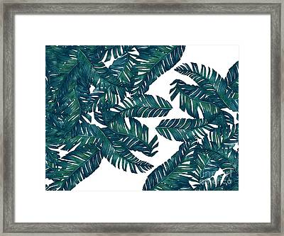 Palm Tree 7 Framed Print by Mark Ashkenazi