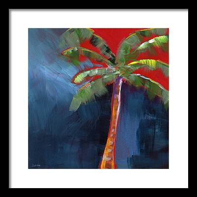 Palm Trees Framed Prints