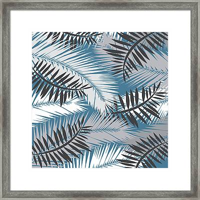 Palm Trees 10 Framed Print
