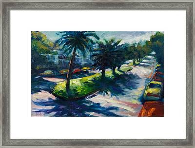 Palm Trees Framed Print by Rick Nederlof