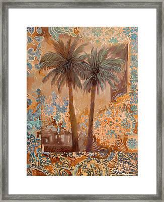 Palme E Decori Framed Print