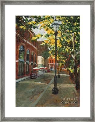 Palmer Street Framed Print