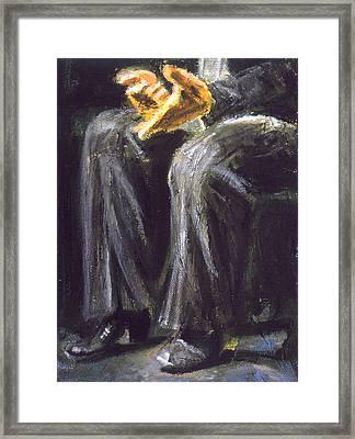 Palmero Framed Print by LB Zaftig