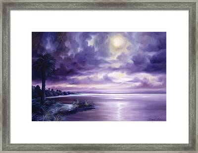 Palmetto Moonscape Framed Print