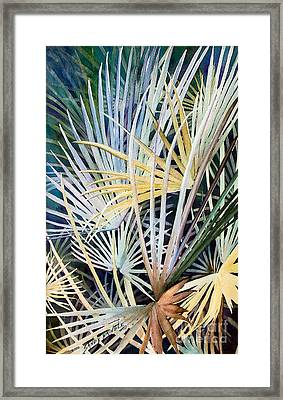 Palms   Original Framed Print