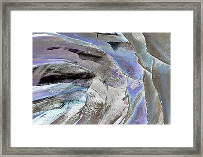 Layered Colors Framed Print