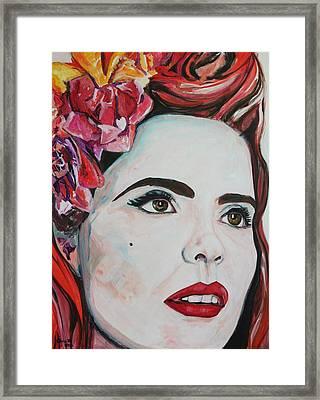 Paloma Framed Print