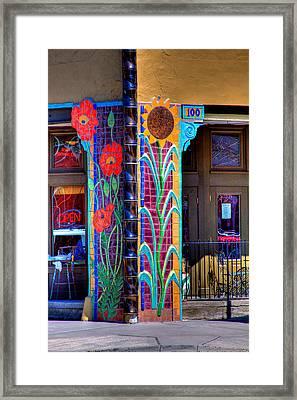 Palouse Cafe Framed Print by David Patterson