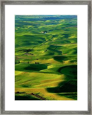 Palouse Morning Framed Print