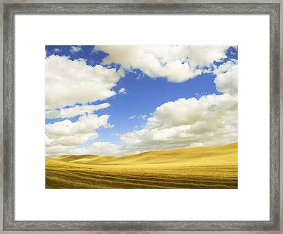 Palouse Valley Framed Print