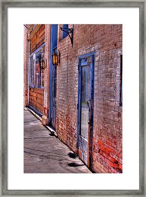Palouse Wall Framed Print by David Patterson