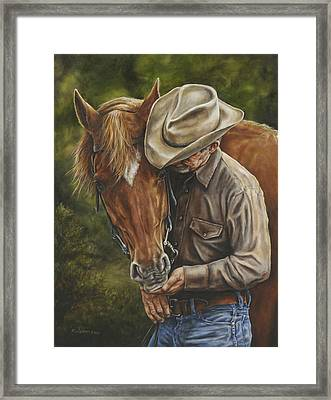 Pals Framed Print by Kim Lockman