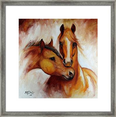 Pals Framed Print by Marcia Baldwin