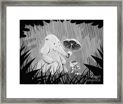 Pals Framed Print by Michael Ciccotello