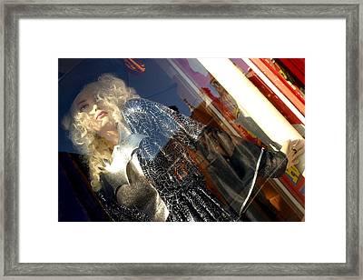 Pamela 4 Framed Print by Jez C Self