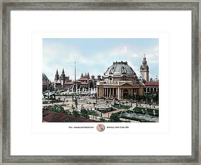 Pan Am Expo - Buffalo Ny Framed Print by Peter Chilelli