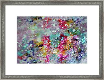 Panache Painting  Framed Print by Don  Wright