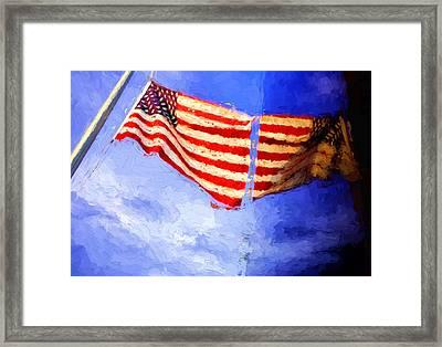 Panama City 911 Memorial Framed Print
