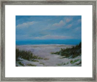 Panama City Beach I Colors Of The  Gulf Coast Framed Print by Phyllis OShields