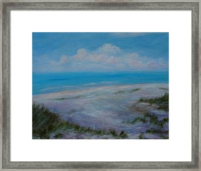 Panama City Beach II Colors Of The  Gulf Coast Framed Print by Phyllis OShields