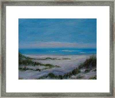 Panama City Beach IIi Colors Of The  Gulf Coast Framed Print by Phyllis OShields