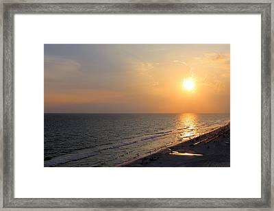 Panama City Beach Framed Print by Theresa Campbell