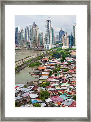 Panama City Framed Print