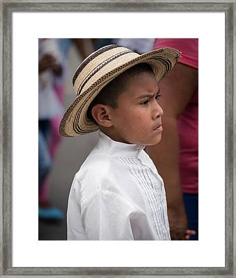 Panamanian Boy Framed Print