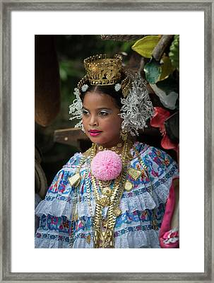 Panamanian Queen Of The Parade Framed Print